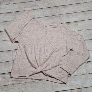 Zara kids size 10 knot front sweater